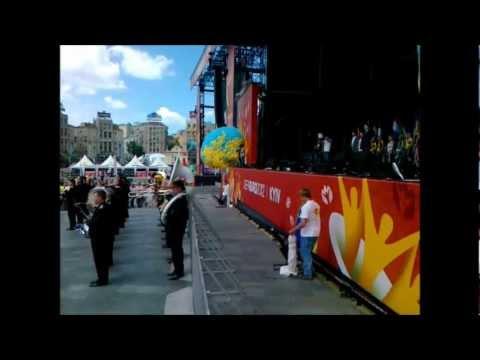 Киев | Открытие фан-зоны Евро 2012