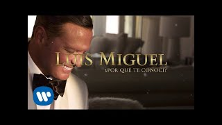 Luis Miguel - ¿Por Qué Te Conocí? (Lyric Video)