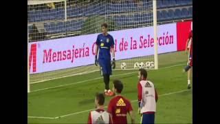 El portero Español Iker Casillas no fue convocado a la selección