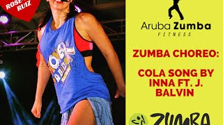 ZUMBA - Cola Song (Inna ft J. Balvin) - by Arubazumba Fitness