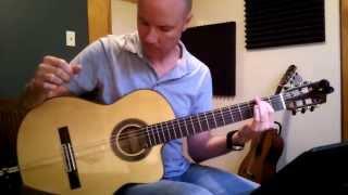 Massive Attack: Teardrop (for classical guitar) + TAB
