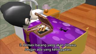 Mr Bean Animation Tips Sebelum Mudik