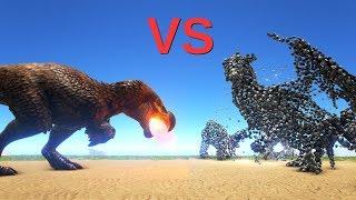 DodoRex vs Overseer (ENDBOSS) || ARK: Survival Evolved || Cantex