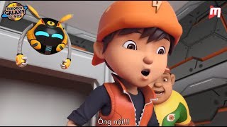 Boboiboy Galaxy Episode 16 Moment - Boboiboy and Friends back to Earth