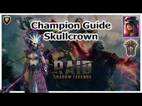 RAID Shadow Legends | Champion Guide | Skullcrown