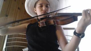 "Girl Plays Violin Cover of Hosier ""Take Me to Church"". She Knows It Might Not be Cool Anymore"
