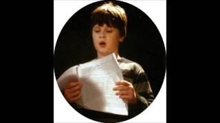 David Cizner boy  soprano sings It was a lover and his lass