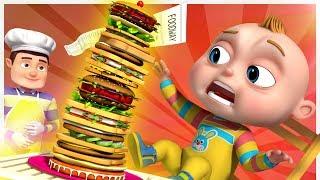 TooToo Boy - Sandwich Restaurant | Videogyan Kids Comedy Shows | Cartoon Animation For Children