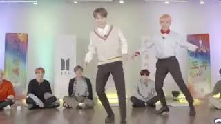 Jimin dancing to serendipity  (BEHIND the anSwer )