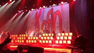 KoRn - Here To Stay live @ Bratislava 4.4.2017