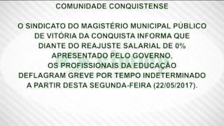 Greve geral dos profissionais da educação