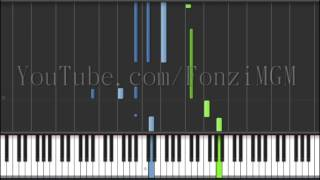 "[Goblin OST Part 7] 도깨비 OST 7 - ""I Miss You"" (Synthesia Piano Tutorial / Live Cover) [w/ Free MIDI]"