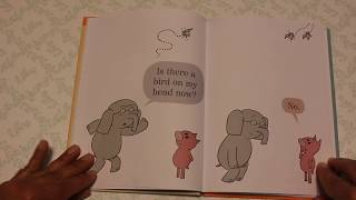 Gerald and Piggie in There is a Bird on Your Head  by  Mo Willems width=
