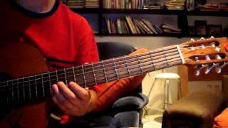 Como tocar Luna unplugged Zoe Guitarra tutorial cover