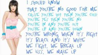 Katy Perry - Hot N Cold With Lyrics