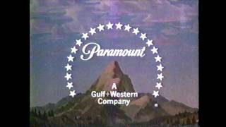 Paramount Movie logo ident intro (1986)