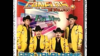 Los Canelos De Durango - Las Pasiones....(En Vivo Con Tololoche)