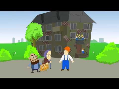 Анимационный ролик - региональная система капитального ремонта