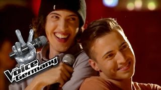 Uptown Funk - Bruno Mars   Mitchy & André Katawazi vs. Nastassja Andrearczyk Cover   TVOG 2015