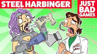 Steel Harbinger Eats People - Just Bad Games