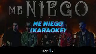Me Niego | Reik ft. Ozuna, Wisin | Letra | Karaoke