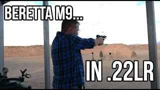 Beretta M9... In .22LR (SHOT Show 2016)