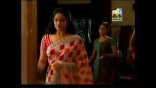 Malayalam serial actress Sreejaya rare Navel Slip width=