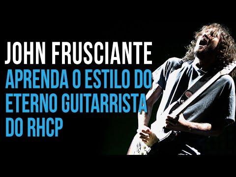 COMO TOCAR GUITARRA NO ESTILO JOHN FRUSCIANTE