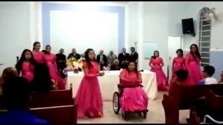 Coreografia (Paulo e Silas - Alisson e Neide) grupo de gestos adoradores de Cristo