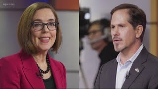Oregon governor's race down to the wire