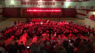 12/8/16 RHS Bands Christmas Concert - Wind Ensemble - Fantasia for Christmas