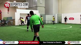 San Cristobal vs. David's AKD Soccer League