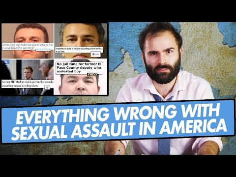 Criminals, Judges, Prisons, and Laws: Everything Wrong With Sexual Assault In America