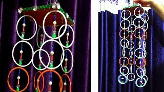 Wall hanging with old bangles | old bangle craft width=
