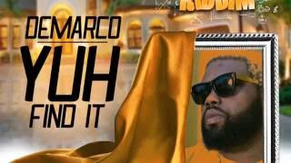 Demarco - Yuh Find It - Raw (Official Audio) | Prod. Good Good | Success Riddim | 21st Hapilos