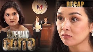 Romina is proven innocent by the court | Kadenang Ginto Recap (With Eng Subs)
