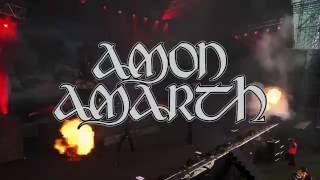Amon Amarth Jomsviking Tour 2016 Spain Madness Live!