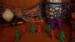 Tarantella Dancers Claymation