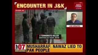 2 Terrorists Killed In Encounter In Tahab Village Of Pulwama, J&K