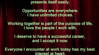 Louise L. Hay - Affirmations for job success