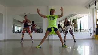 Coreografia Zumba - Sacudete la arena