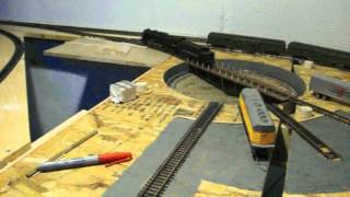 HO Scale Turntable - Scratch Built