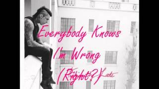 Falling In Reverse Fashionably Late Lyrics