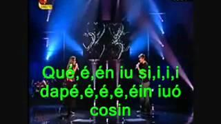 MCA7 - Margarida e Rui cantam HeartBeat (Karaoke)