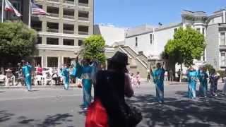 Northern California Cherry Blossom Parade 2014 Nippon Minyo Buyo Renmei