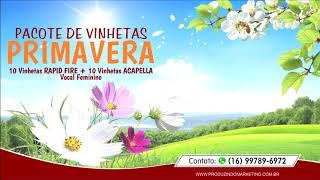 Pacote de Vinhetas Primavera by DOUGMIX