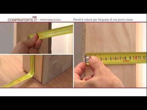 Come verificare le dimensioni della porta blindata fai - Dimensioni della porta da calcio ...