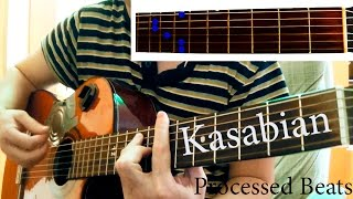 Kasabian - Processed Beats (chords) lll How to play
