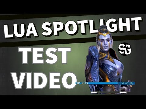 [RAID SHADOW LEGENDS] LUA - SPOTLIGHT - TEST VIDEO - PLAYING WITH VEGAS 16