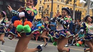 Chicas Caporales 02, Virgen de la candelaria 2016, Festividad Peruana